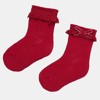 Red Socks 9173 12m