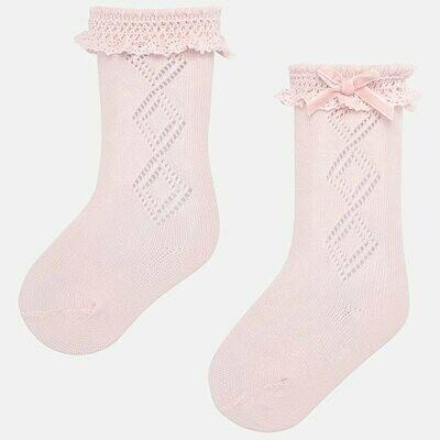 Pink Socks 9173 6m