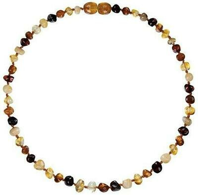 Multi Amber Necklace