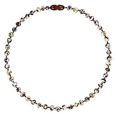 Mosaic Amber Necklace