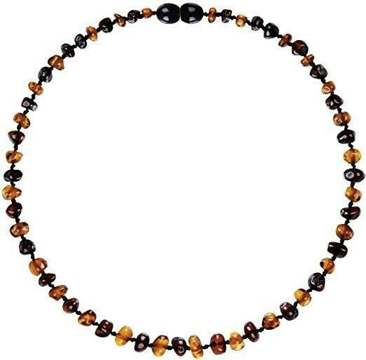 Cognac/Cherry Amber Necklace