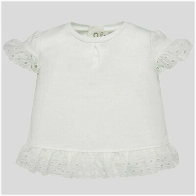Ruffled Sleeve Shirt 1034 4/6m