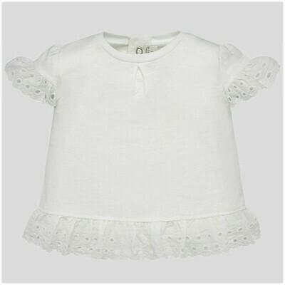 Ruffled Sleeve Shirt 1034 12m