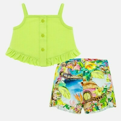 Tropical Shorts Set 1208 6m