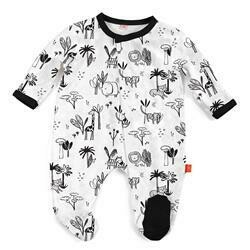 Animal Safari Footie 6/9m