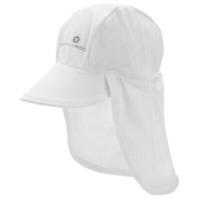 White Flap Hat