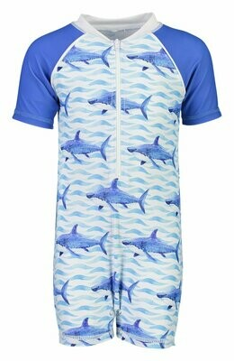 School of Sharks Sunsuit 0