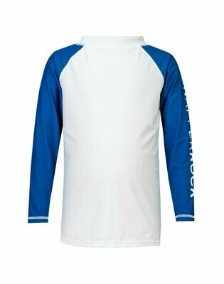 Blue Sleeve Rash Top 2