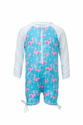 Flamingo Sunsuit 1