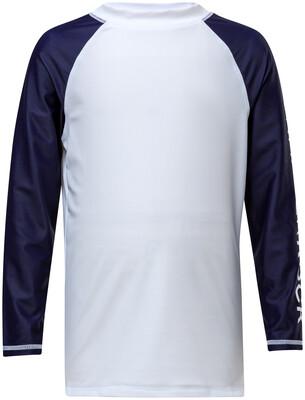 Navy Sleeve Rash Top 3