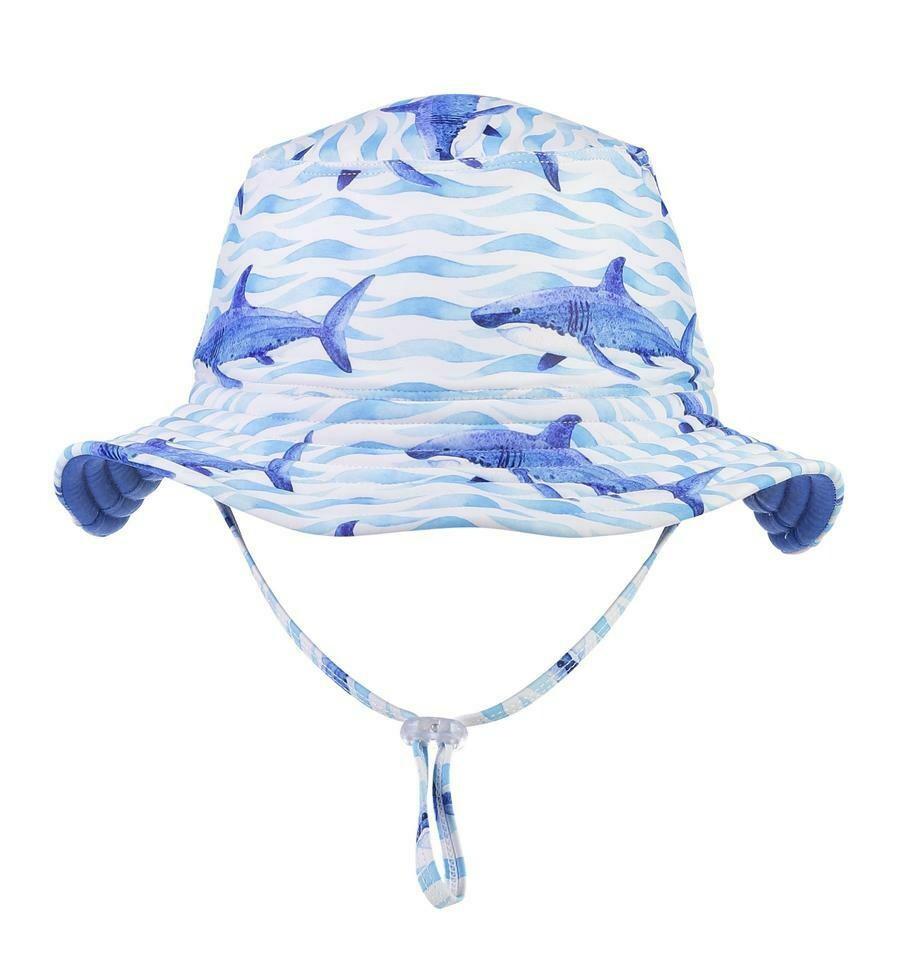 School of Sharks Bucket Hat - S