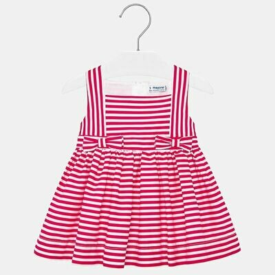 Red Stripe Dress 1919 9m