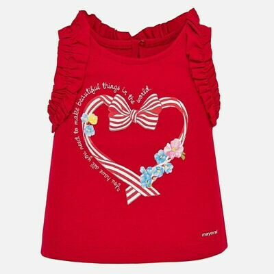 Red Tank Top 1070 9m
