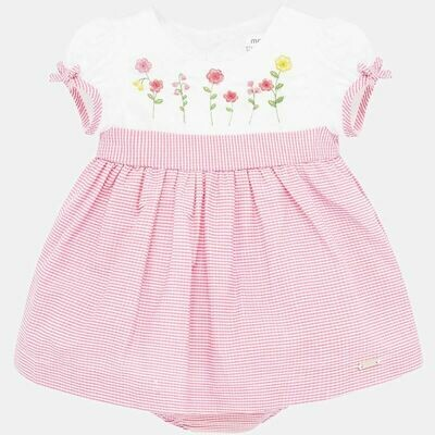 Seersucker Dress 1861 6/9m
