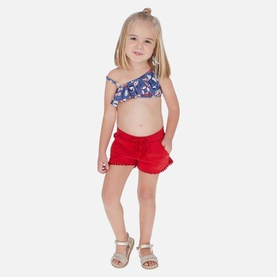 Red Play Shorts 607 7
