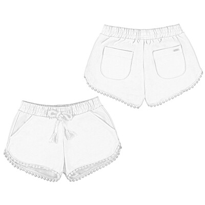 White Play Shorts 607 5