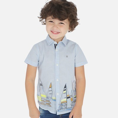 Sailboat Shirt 3165 3