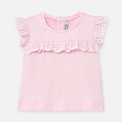 Pink Ruffled T-Shirt 1061 12m