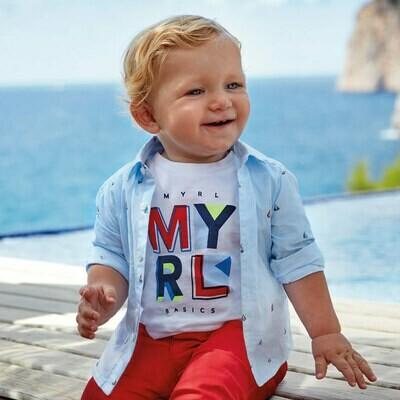 Sailboat Shirt 1166 18m