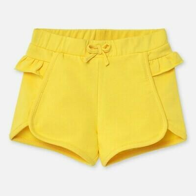 Yellow Ruffle Shorts 1204 24m