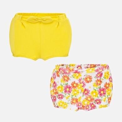Yellow Diaper Set 1261 6/9m