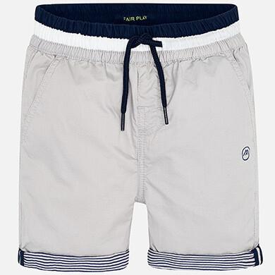 Grey Cuffed Shorts 3254-5