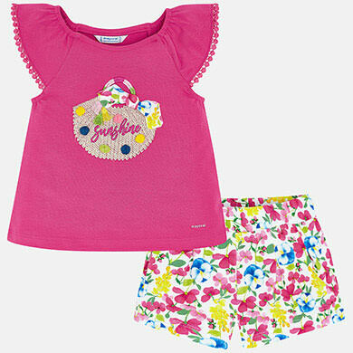 Sunshine Shorts Set 3293 2
