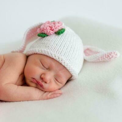 Pink Lamb Beanie