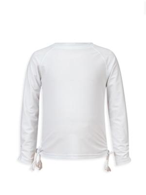 White LS Rash Top - 1
