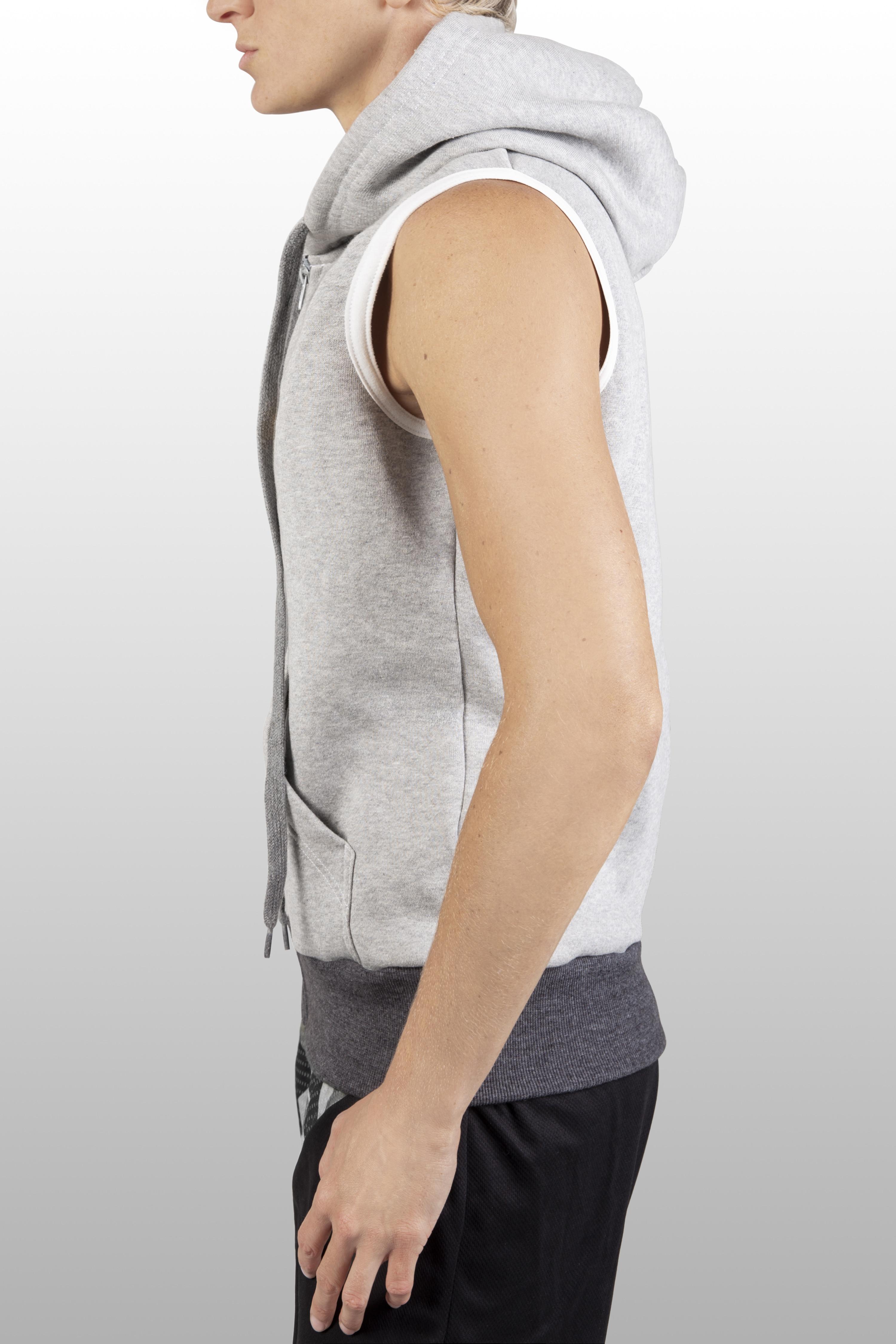 2xME unisex hoodie light grey
