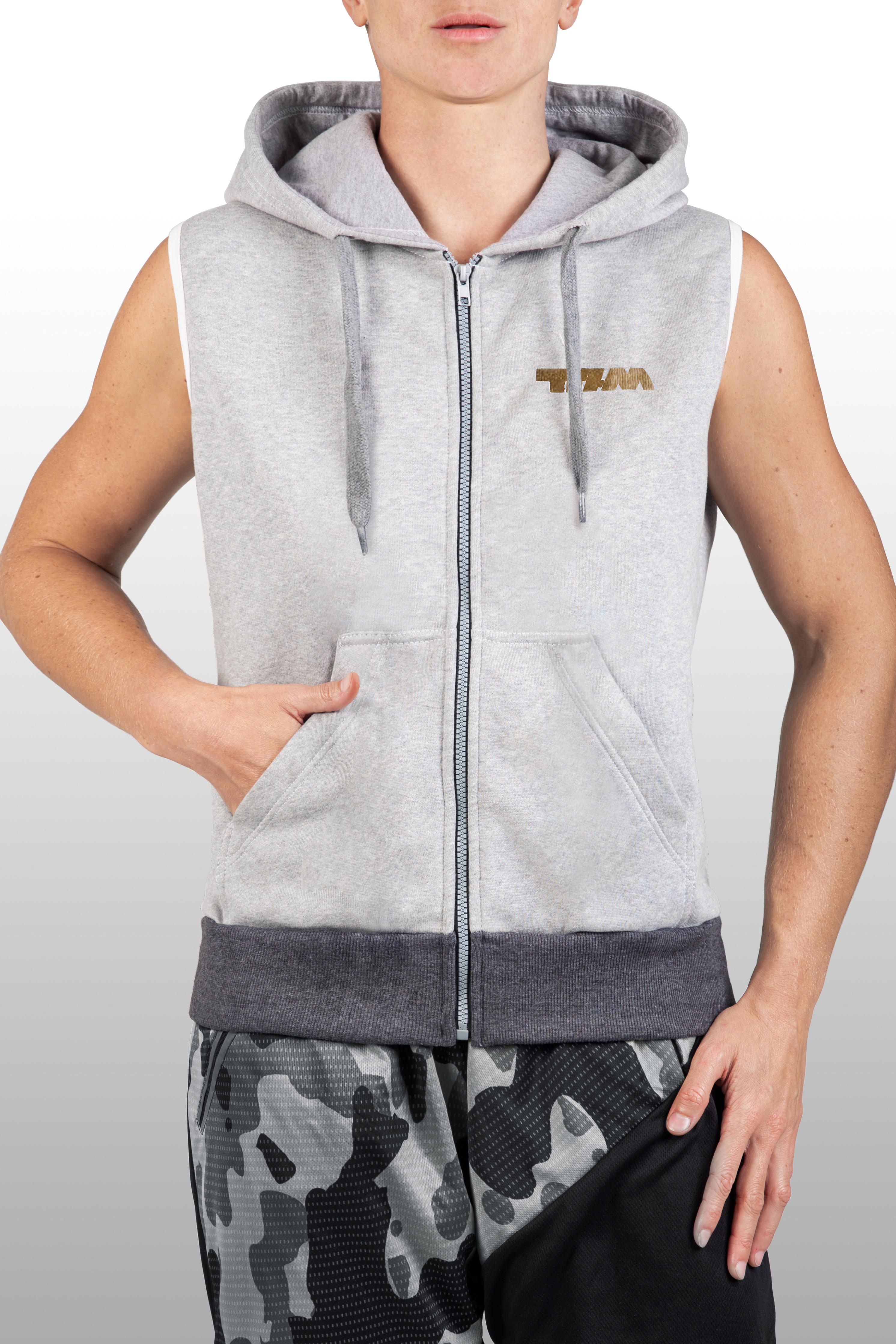 2xME unisex hoodie light grey B_2xme_M_19_01grey