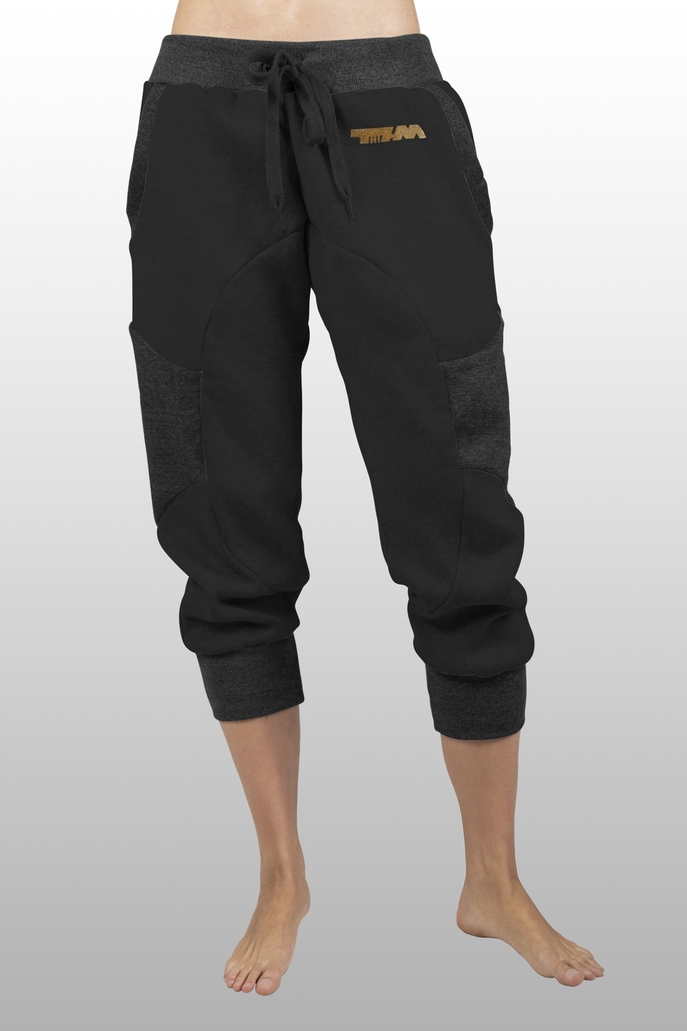 2xME unisex 3/4 pants anthracite