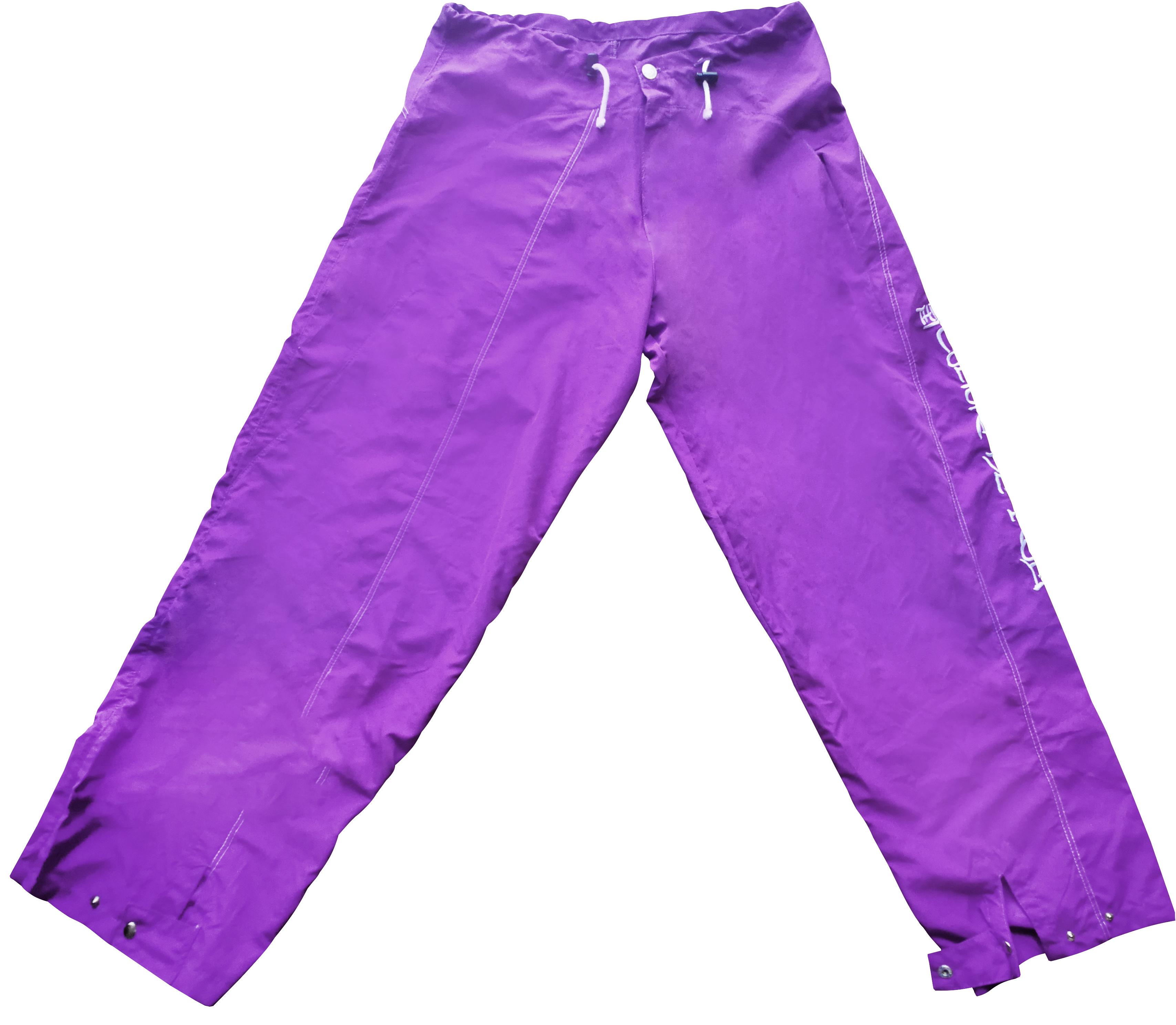 Unisex pants Samarak violet 00007