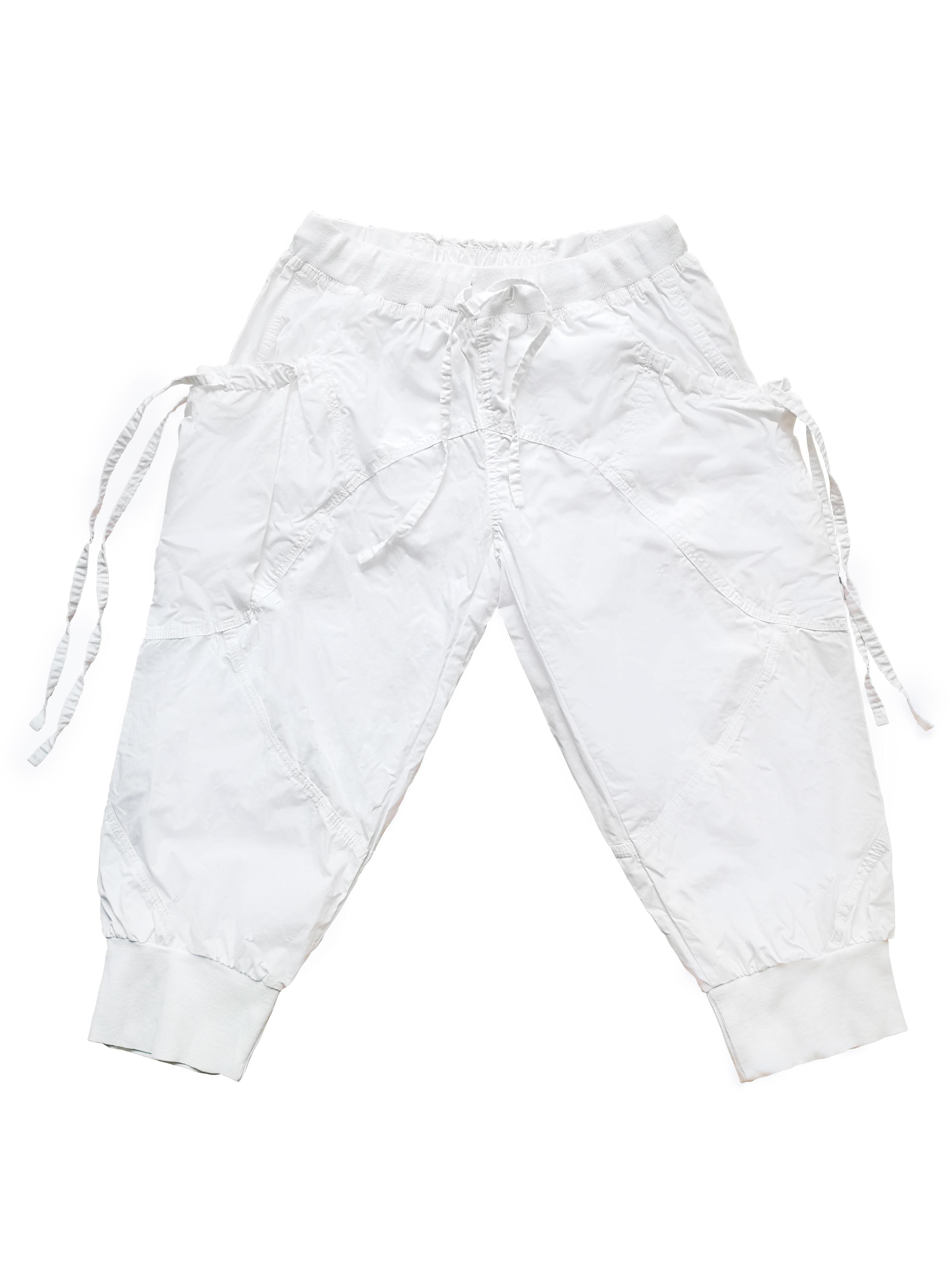 Female white pants 00009