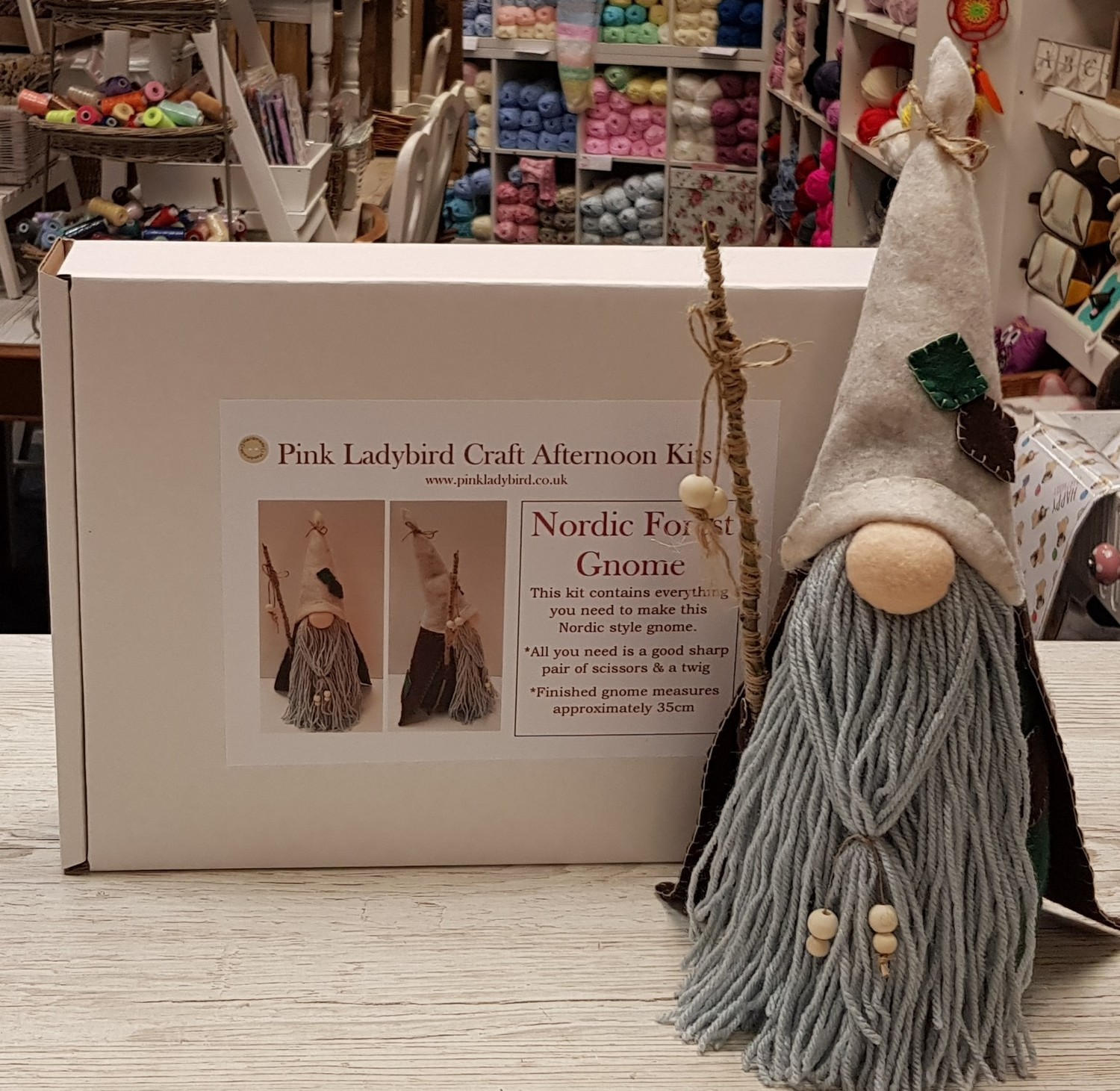 Craft Afternoon Kit - Nordic Forest Gnome
