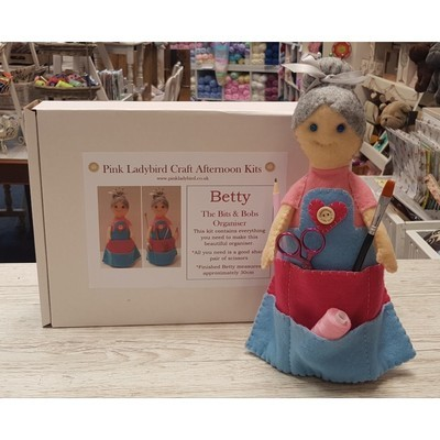 Craft Afternoon Kit - Betty the Bits & Bobs Organiser