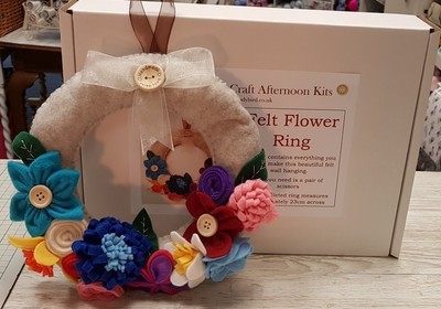 Craft Afternoon Kit - Felt Flower Ring
