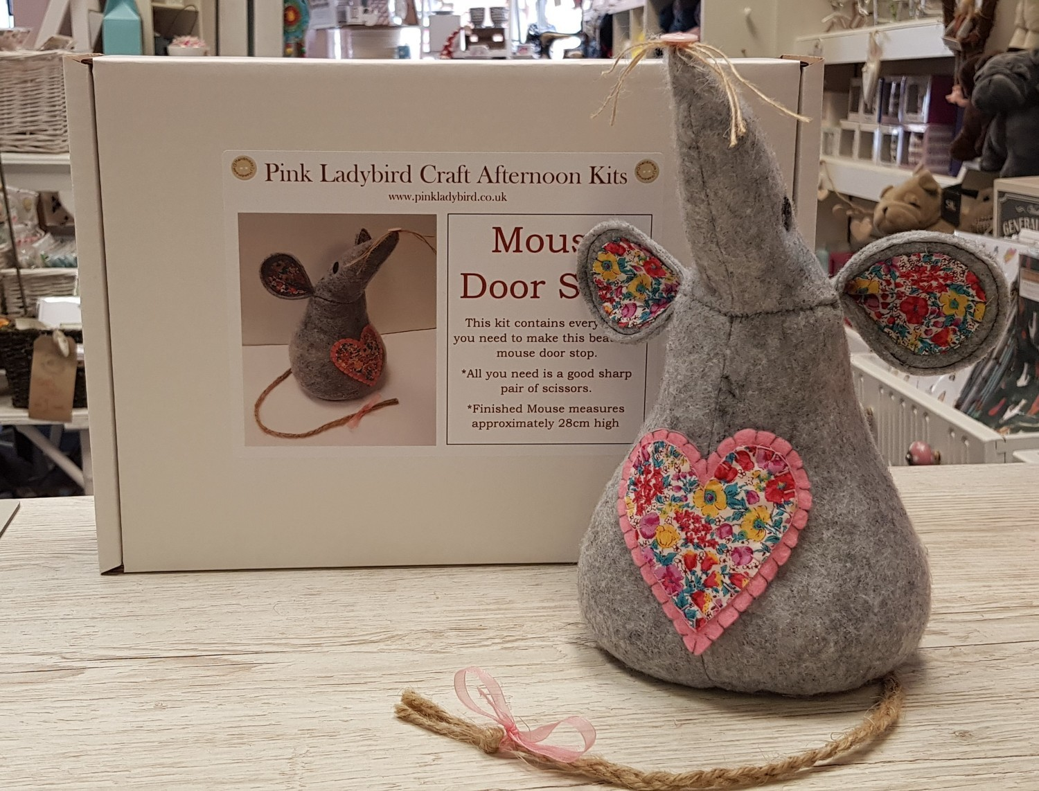 Craft Afternoon Kit - Mouse Door Stop