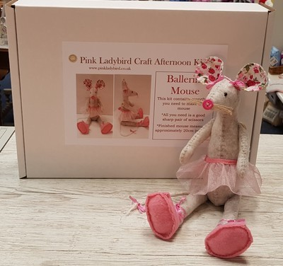 Craft Afternoon Kit - Ballerina Mouse