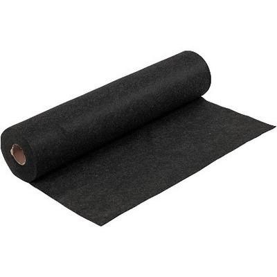 Felt - Mottled Black (by the metre) W: 45 cm, thickness 1,5 mm, 180-200 g/m2
