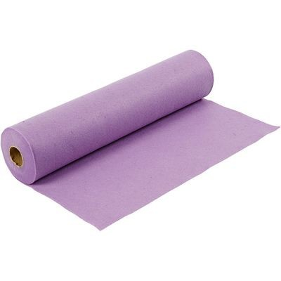 Felt - Light Purple (by the metre) W: 45 cm, thickness 1,5 mm, 180-200 g/m2