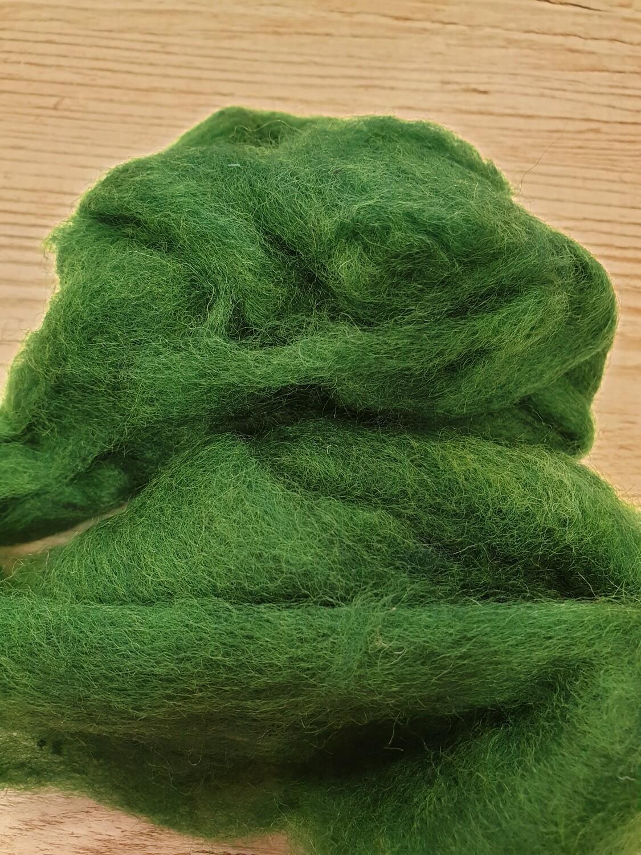 Carded Felting Wool  20 g - Holly