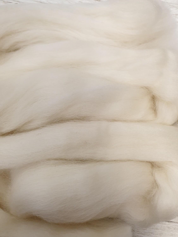 Merino Felting Wool 25g - Antique White