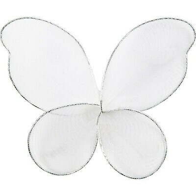 Net Wings, size 7.5x5.5 cm, 6pcs