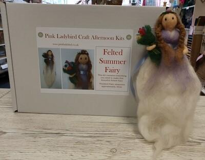 Craft Kit - Felted Summer Fairy