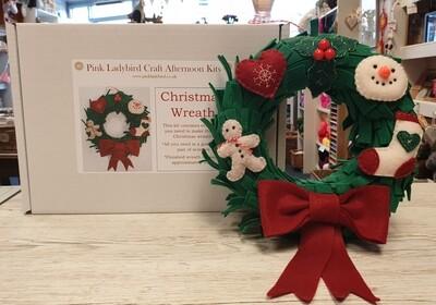 Craft Kit - Christmas Wreath