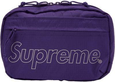Supreme FW18 Shoulder Bag Purple
