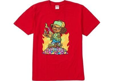 Supreme Molotov Kid Tee Red