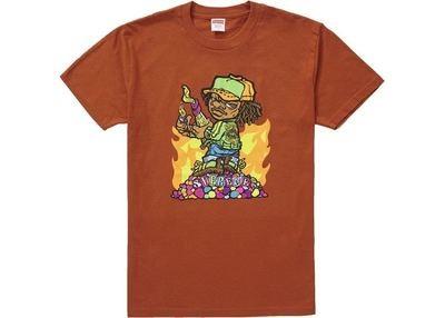 Supreme Molotov Kid Tee Rust