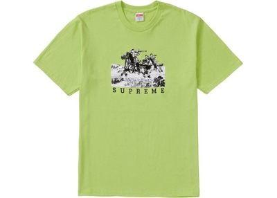 Supreme Riders Tee Neon Green